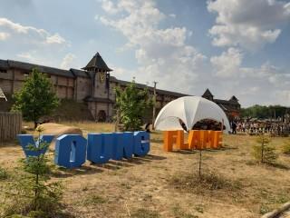 """Видавництво """"Орієнтир"""" взяло участь на фестивалі Young Flame"""